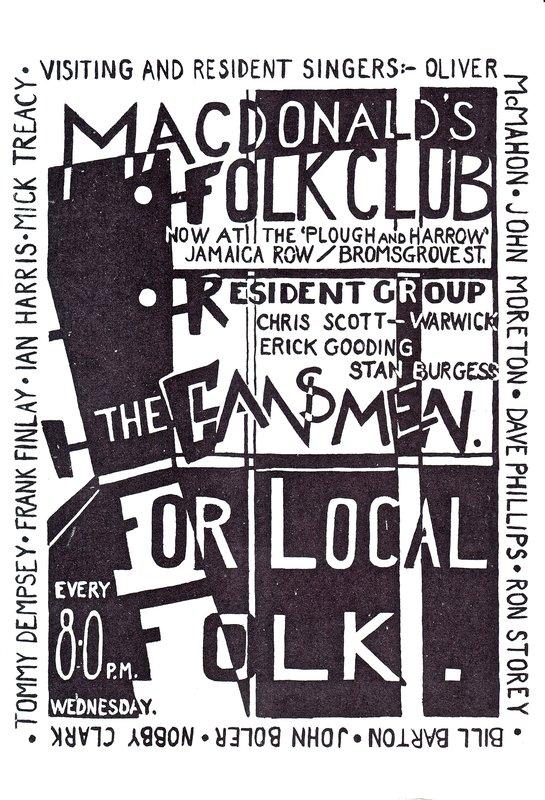 Plough & Harrow Poster 1964